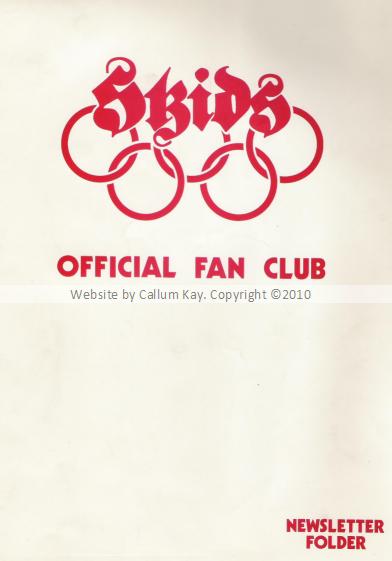 Skids Newsletter Folder
